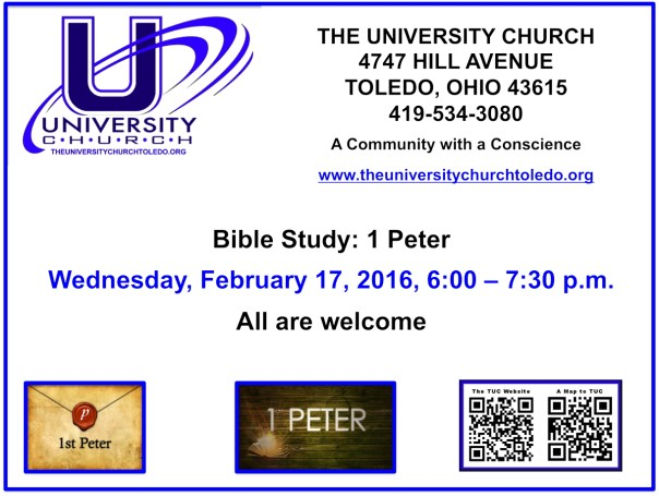 February 17 2016 Bible Study