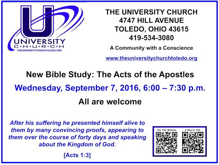 September 7 2016 Bible Study