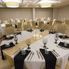 Chair Cover Rentals Gainesville Fl Modern Wood Dining Weddings And Receptions Wedding Venues Reception Holiday Inn