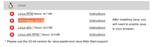 WebEx-Java-Download