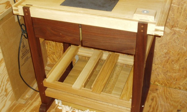 A Sharpening Bench