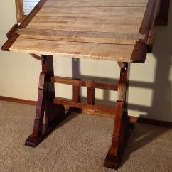Drafting Table Chairs Desk Chair For Lower Back Pain An Architect 39s In Idaho The Unplugged Woodshop Toronto