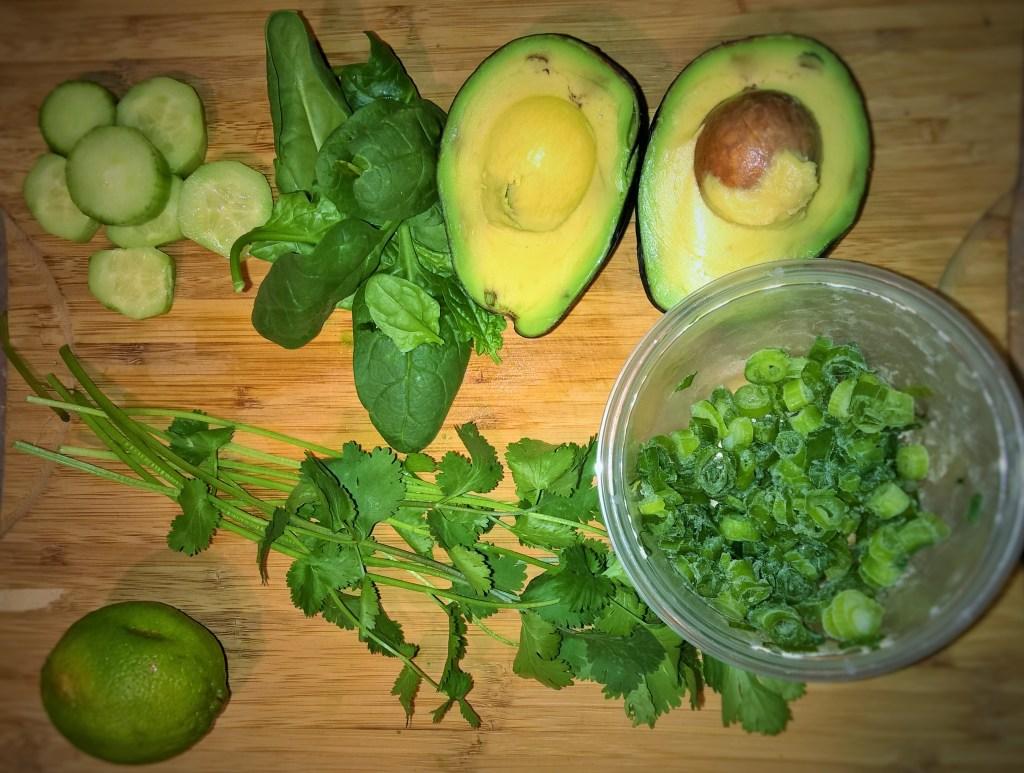 autoimmune protocol paleo guacamole veggie dip snack fast easy avocado sauce chips guac spinach lim cucumber onion cilantro