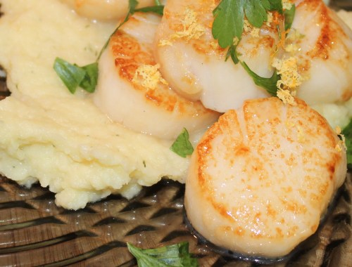 scallops aip autoimmune protocol paleo shellfish shell fish seafood perfect pan seared fried technique organ meat recipe