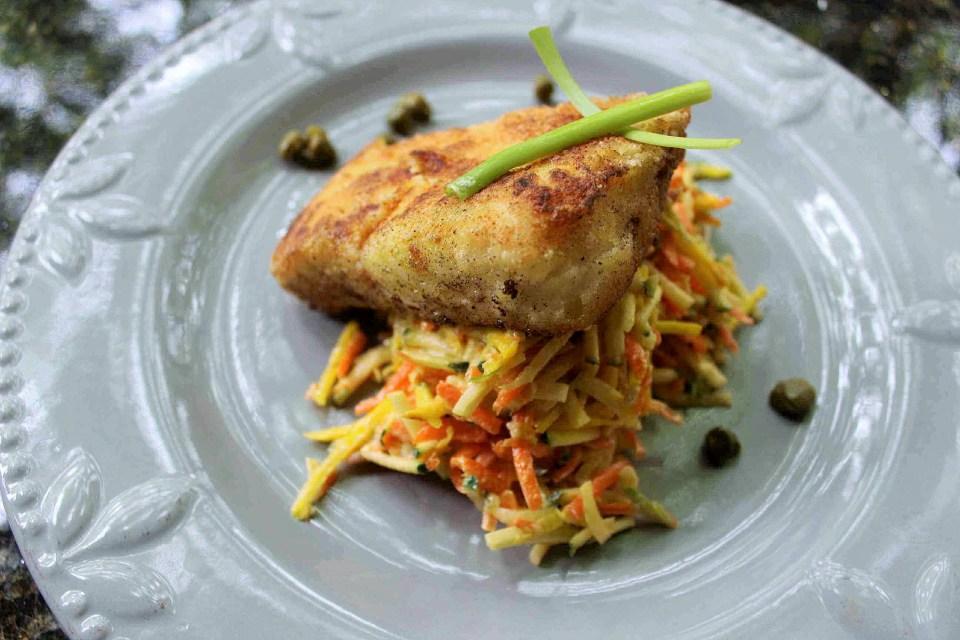 crispy fried fish filet aip paleo keto