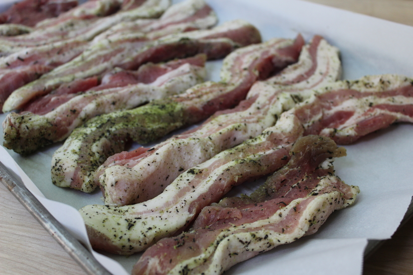 Homemade Uncured Bacon 4