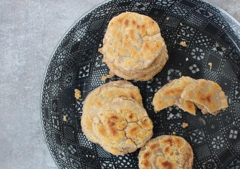 flaky cassava bread