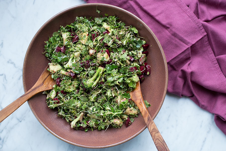 zesty detox salad AIP
