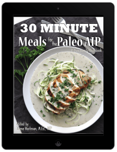 aip autoimmune protocol easy fast meals allergy friendly clean eating