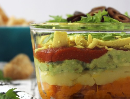 no beans 7 layer dip aip paleo dairy coconut nightshade free