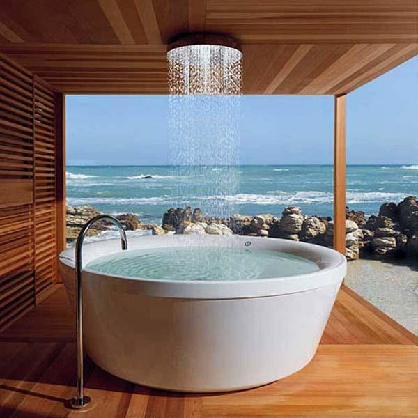 Beautiful rain shower design ideas