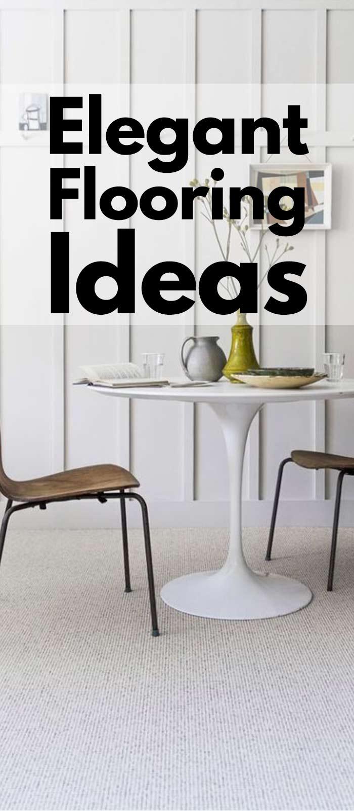 Classy And Elegant Flooring Ideas