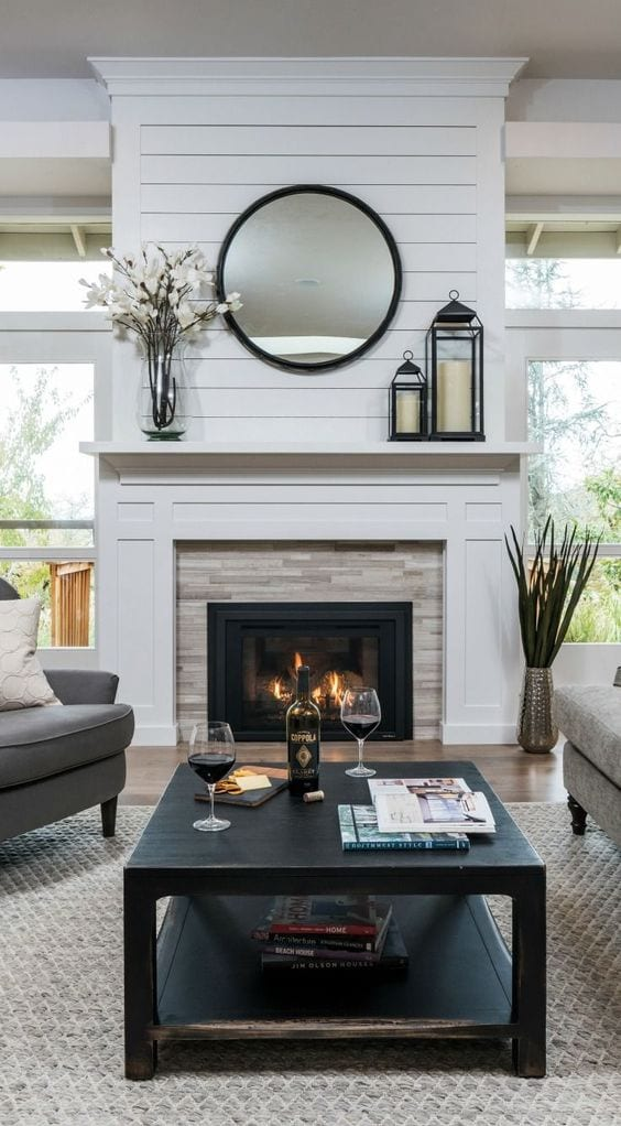 Cool looking fireplace decor ideas
