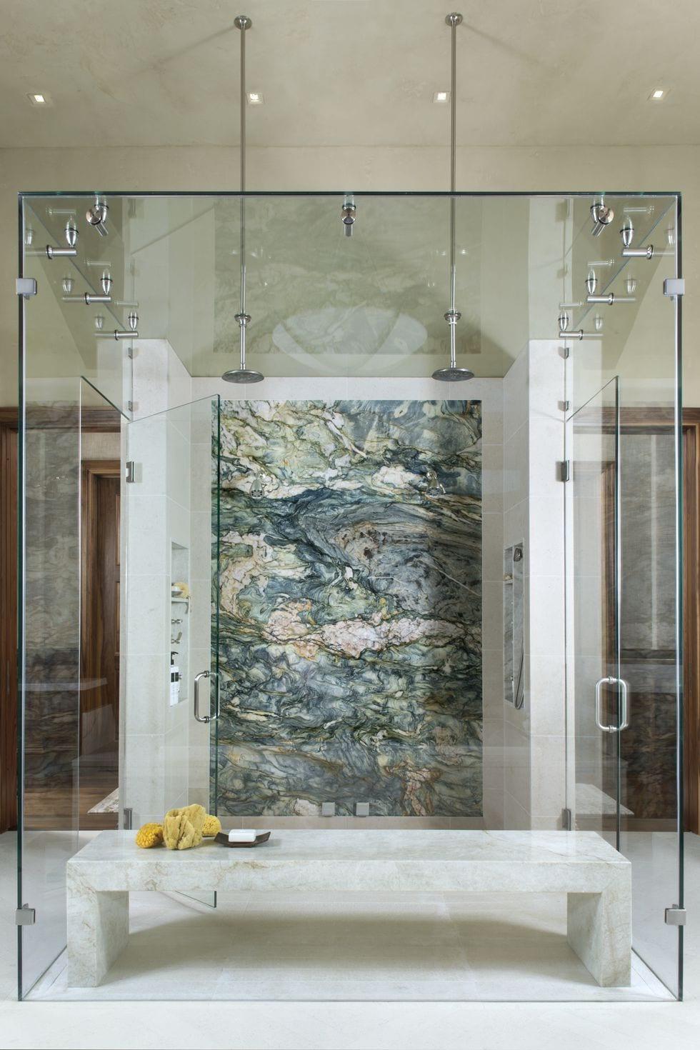 Lavish shower design ideas