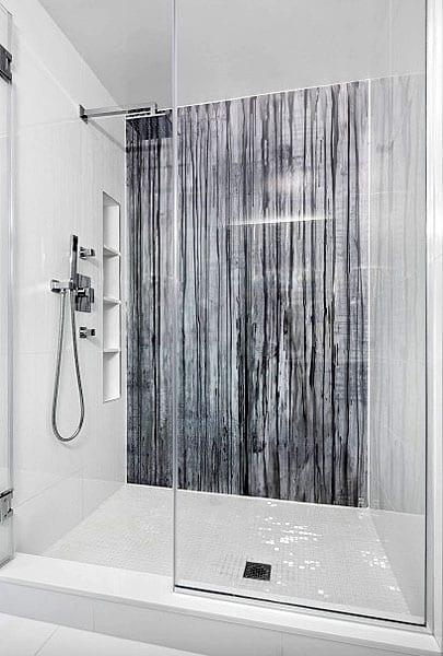 Marble texture shower design ideas