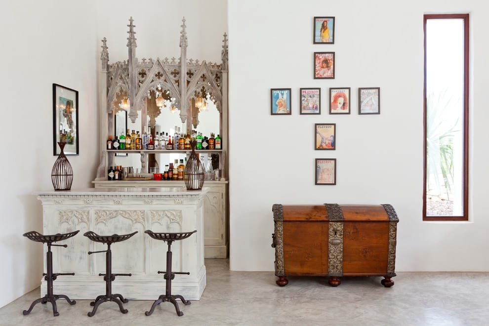 Moroccan Style Bar for home ideas