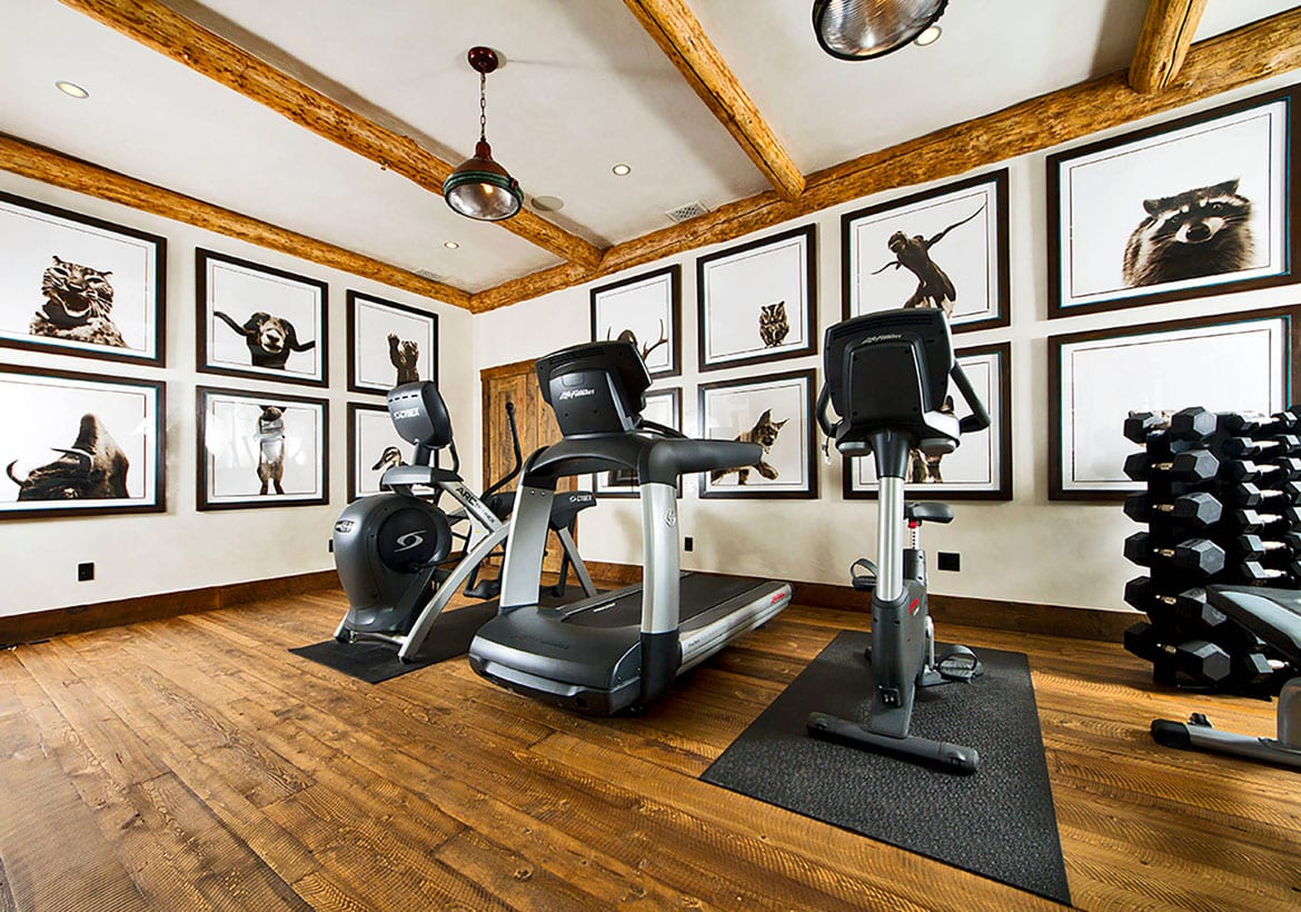 Rustic Home Gym Design Ideas