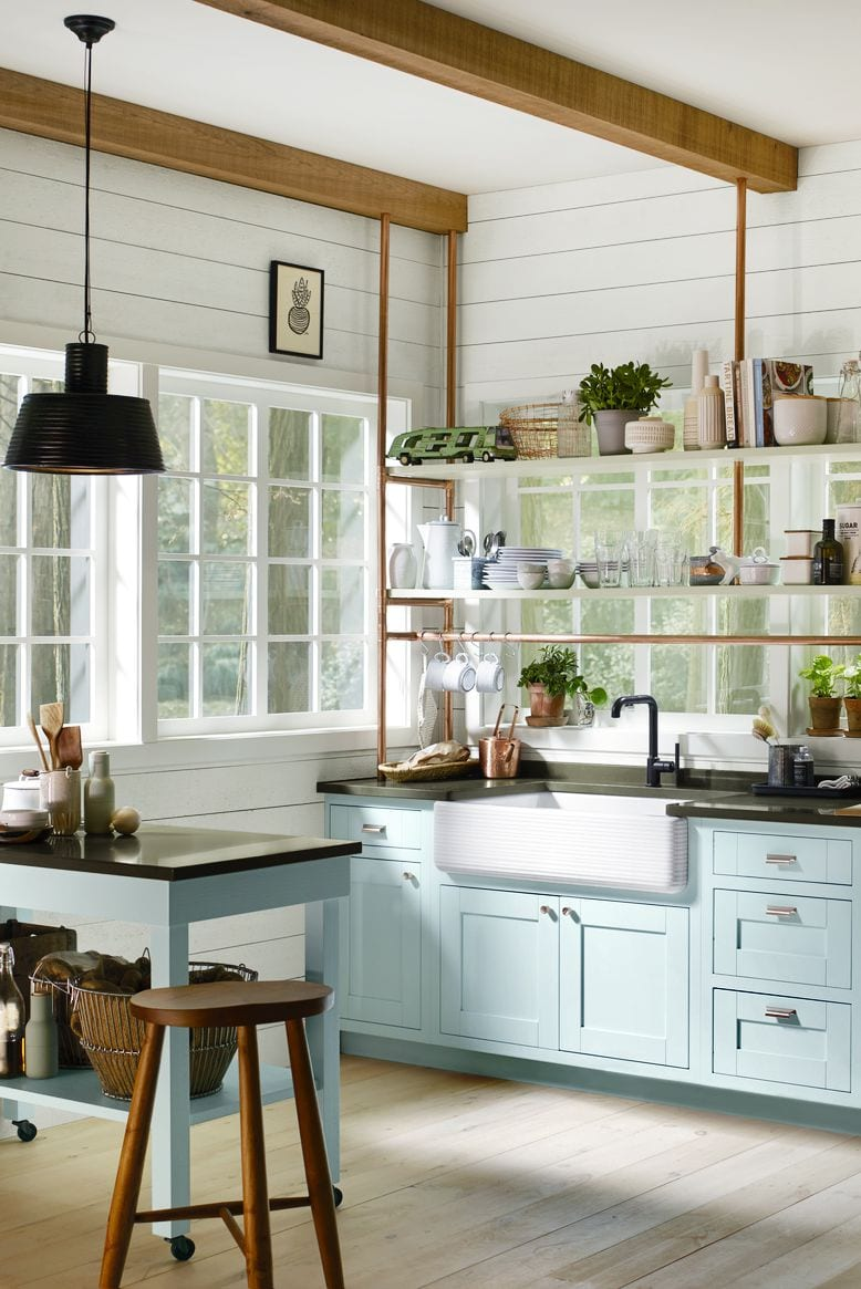 Simple and beautiful open kitchen design ideas