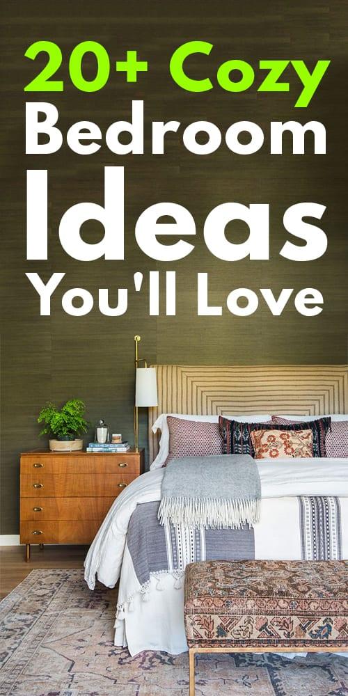 20+ Cozy Bedroom Ideas You'll Love!