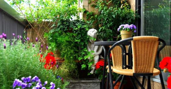 23 Beautiful Balcony Garden Photos!