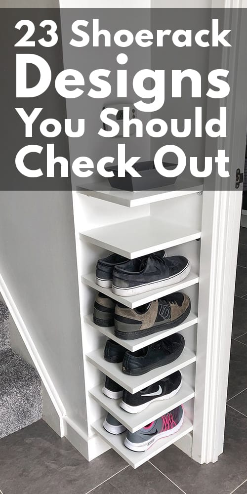 23 Shoe rack Designs You Should Check Out