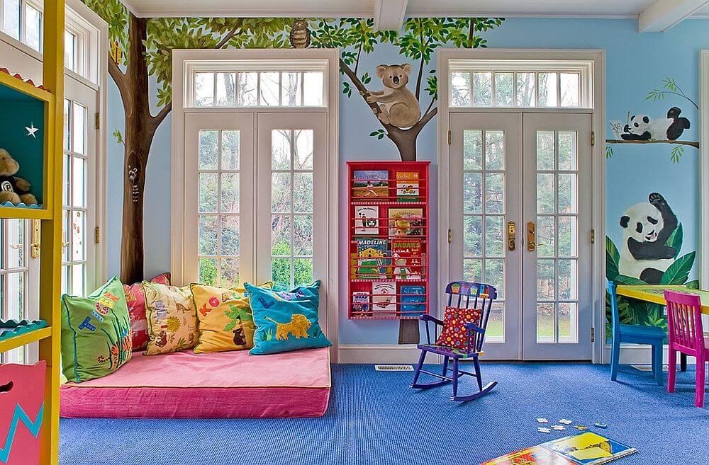 Animal Lovers Bedroom Ideas For Kids