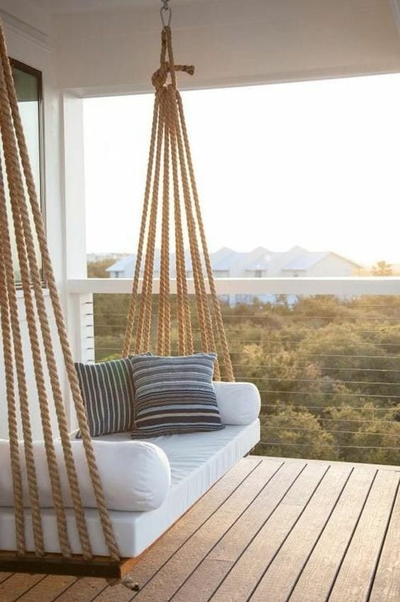 Beautiful Swing In Balcony Ideas