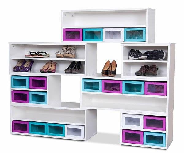 Box Base Shoe Cabinet design ideas
