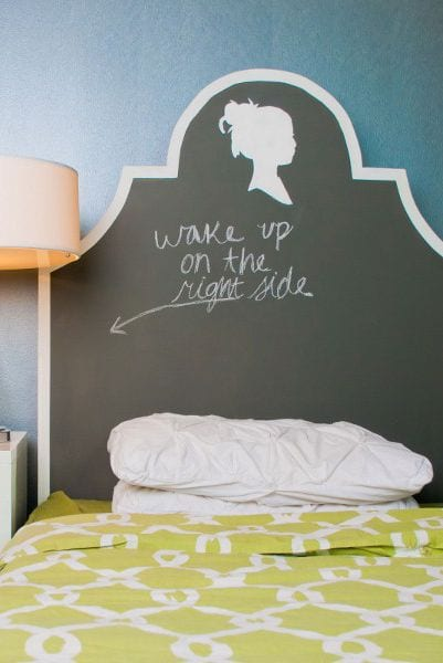Chalk Headboard bedroom design ideas
