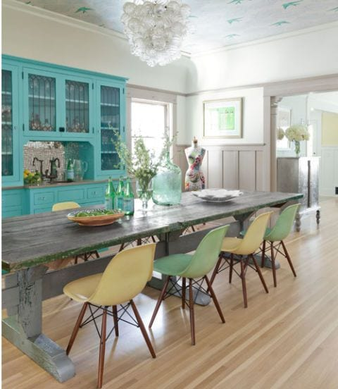 Colorful Dining Room design ideas