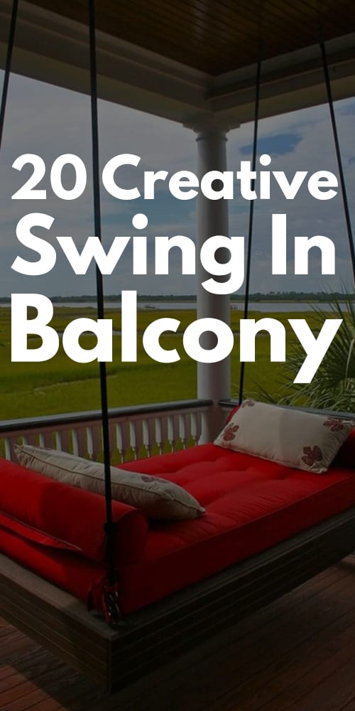 Creative Swing In Balcony Photos