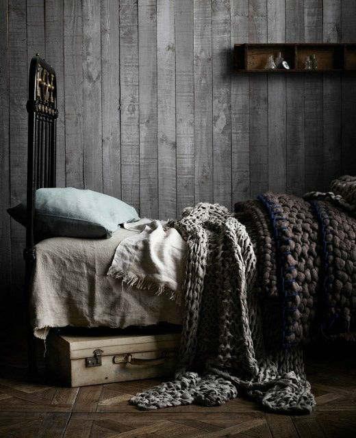 Dark Rustic Bedroom Ideas
