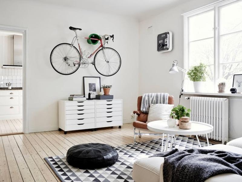 Dynamic Scandinavian Living Room design ideas