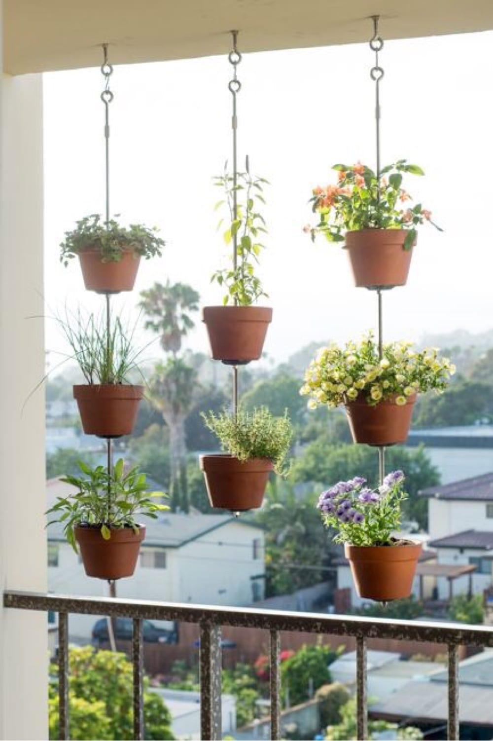 Hanging Balcony Garden Ideas