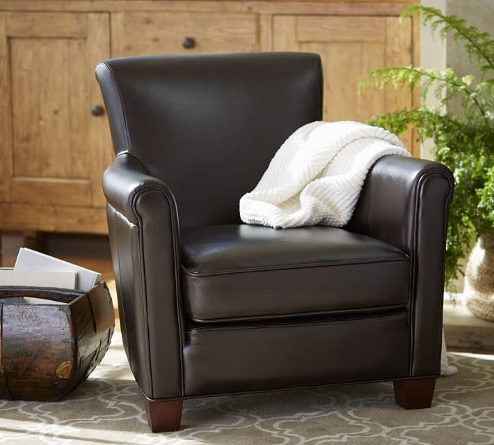 Leather chair for living room
