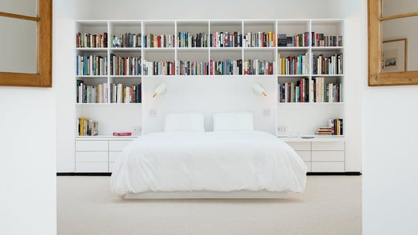 Master Bedroom Shelves Design Photos And Ideas