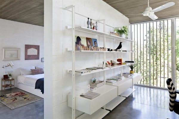 Modern Bedroom Shelves Design Photos And Ideas