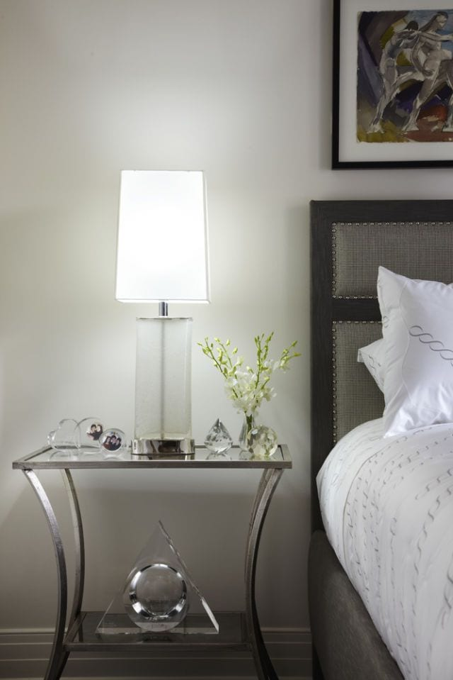 Modern Glass Sidetable Ideas For Bedroom