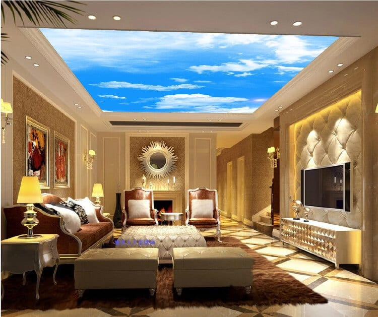 Photo ceilings for living room ideas
