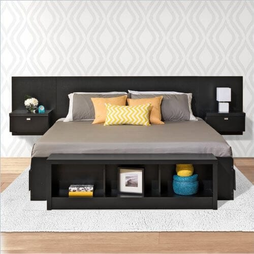 Platform Storage Bed Designs