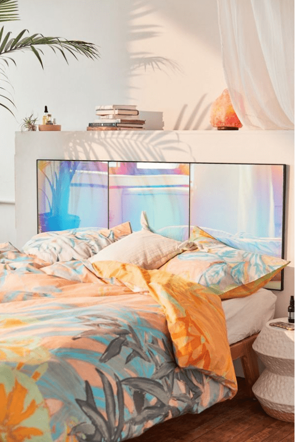 Rainbow Headboard bedroom ideas
