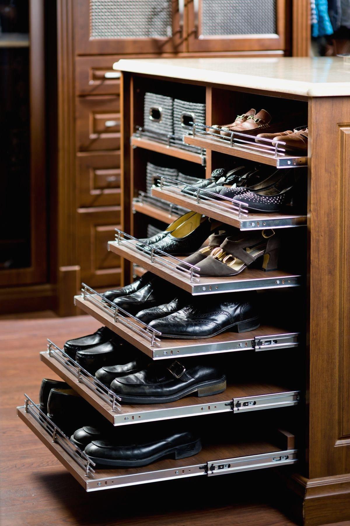 Shoe Rack Ideas for Closet design ideas
