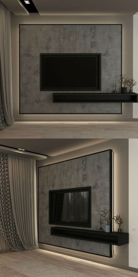 Simple and beautiful TV unit designs ideas