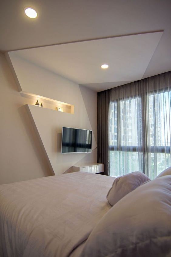Simple ceiling design for bedroom