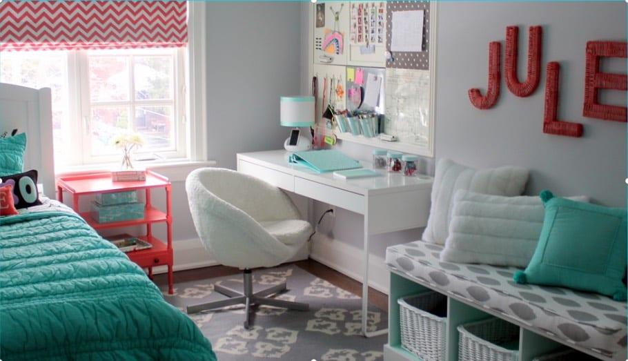 Tween and Teen Study Room Ideas