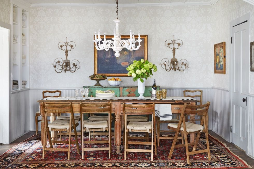 Vintage look dining room ideas