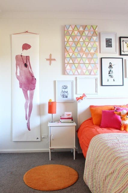 Wall decor ideas for girls