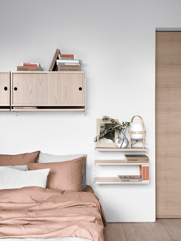 Shelves instead of a nightstand Design Ideas