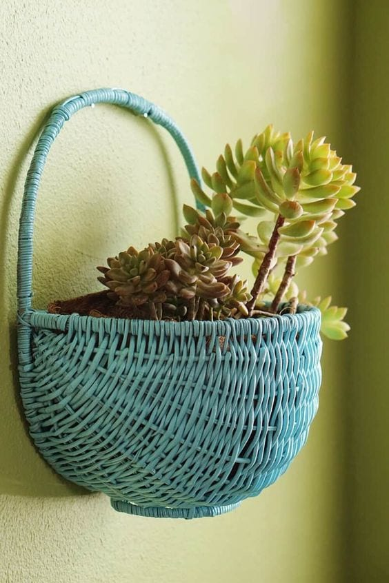 Cute Ideas To Reuse Baskets