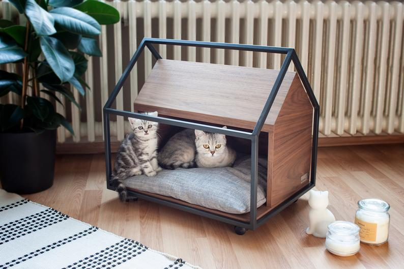 Cute Wooden House Ideas for Pets